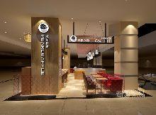 Pearl Waffle下午茶休闲餐厅室内装饰设计赏析